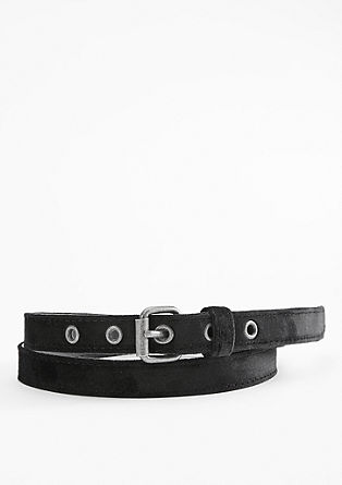 Thin velvet belt from s.Oliver