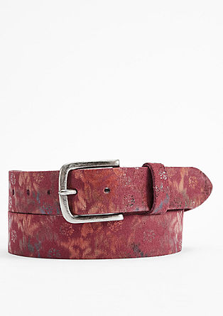 Belt with holographic effect from s.Oliver