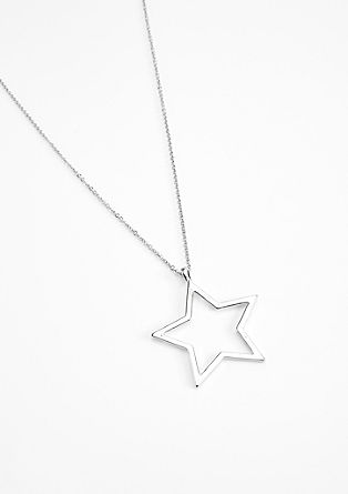 Long necklace with a shiny star from s.Oliver