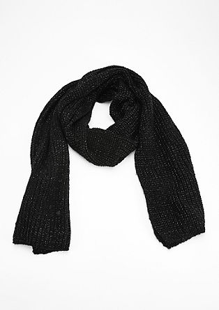 Loose knit glitter scarf from s.Oliver