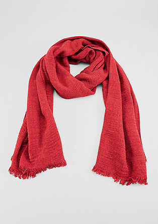 XXL textured scarf from s.Oliver
