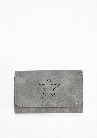 Portemonnaie mit Stern-Perforation