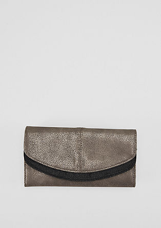 Purse in a metallic look from s.Oliver