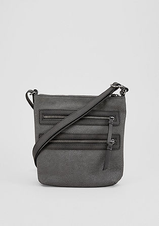 City Bag mit Metall-Zippern
