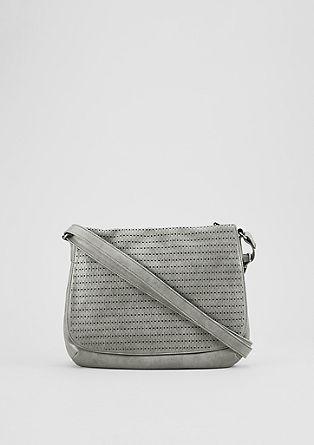 Shoulder Bag mit Lochmuster