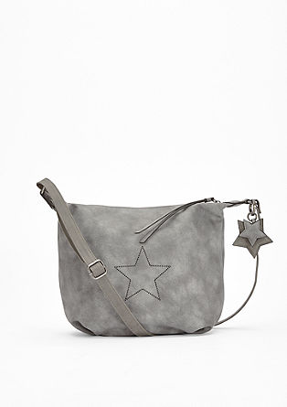 City Bag mit Stern-Perforation