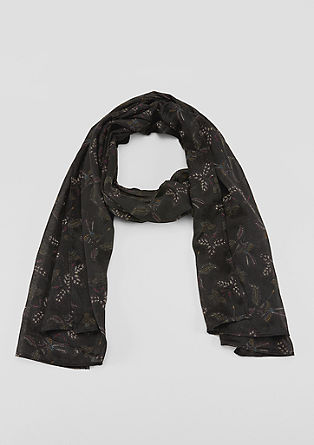 Lightweight printed scarf from s.Oliver