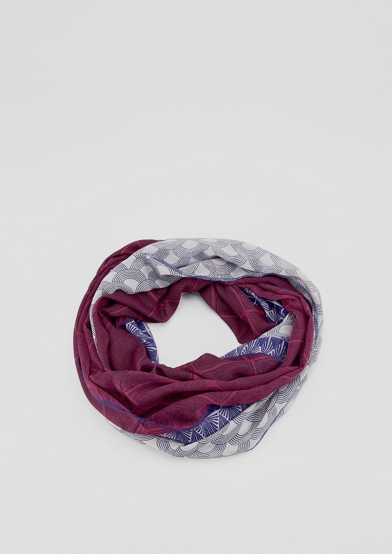 Loop | Accessoires > Schals & Tücher > Loops | Blau | 100% polyester | s.Oliver
