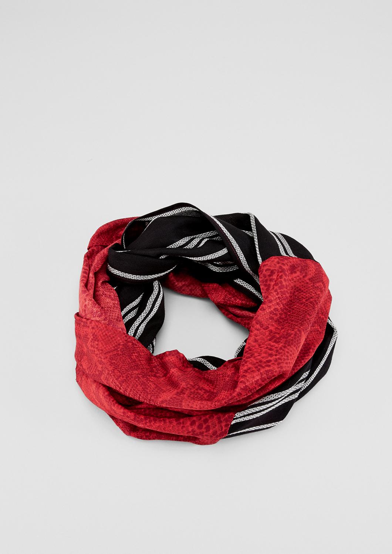 Loop | Accessoires > Schals & Tücher > Loops | Pink | Obermaterial a 100% viskose| obermaterial b 100% polyester | s.Oliver