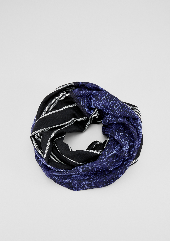 Loop | Accessoires > Schals & Tücher > Loops | Blau | Obermaterial a 100% viskose| obermaterial b 100% polyester | s.Oliver
