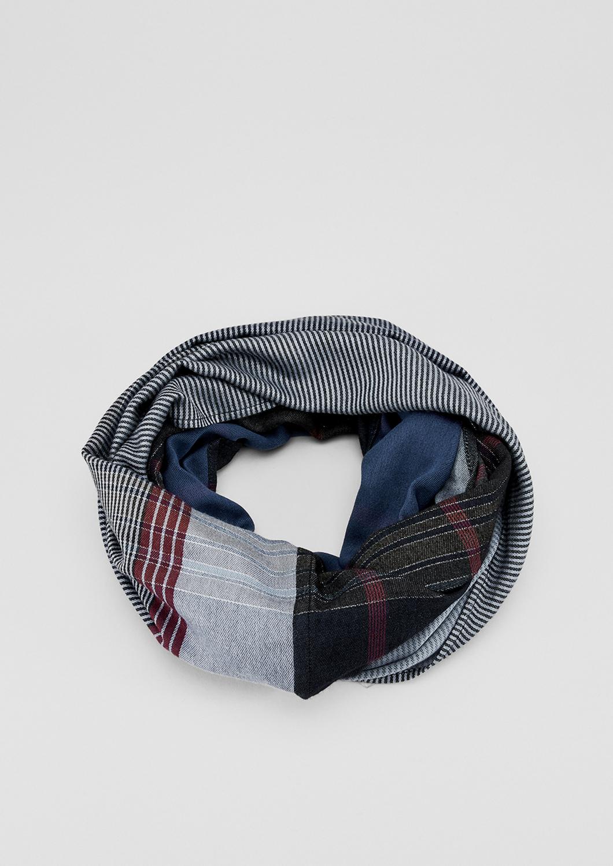 Loop | Accessoires > Schals & Tücher > Loops | Blau | 95% baumwolle -  5% metallisiertes garn | s.Oliver