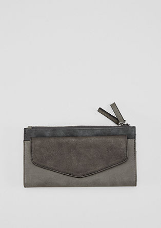 Roomy purse in a mix of materials from s.Oliver