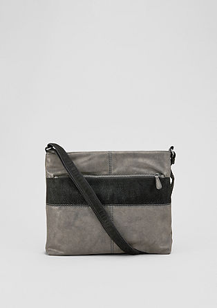 Shoulder Bag mit Canvas-Gurt