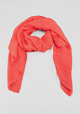 Pleated XXL scarf from s.Oliver
