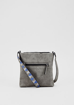 City bag met motiefprint