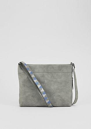 Shoulder Bag in Leder-Optik