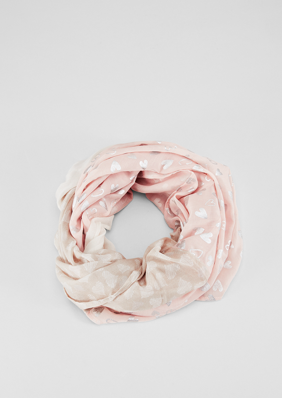 Loop | Accessoires > Schals & Tücher > Loops | Braun | 100% polyester | s.Oliver