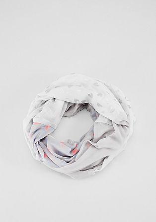 Écharpe tube légère à imprimé scintillant de s.Oliver