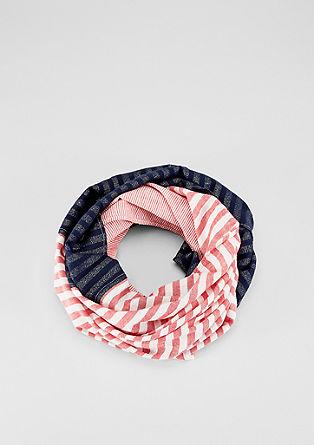 Écharpe tube à motif rayé mélangé de s.Oliver
