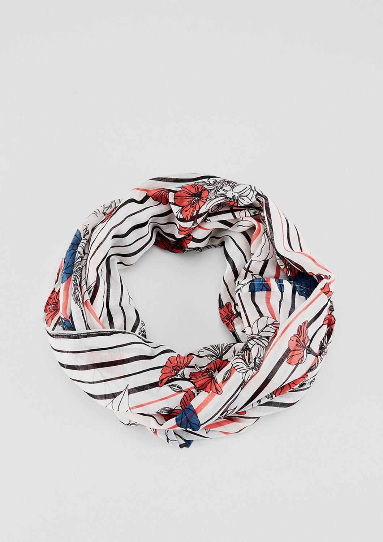 Loop | Accessoires > Schals & Tücher > Loops | Weiß | 100% polyester | s.Oliver