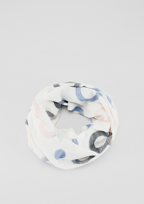 Loop | Accessoires > Schals & Tücher > Loops | Blau | 70% polyester -  30% viskose | s.Oliver
