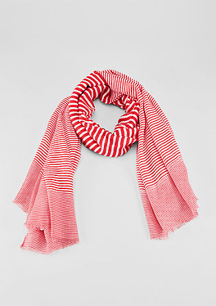 Floaty striped scarf from s.Oliver
