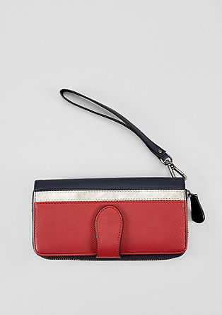 Purse with colour blocking from s.Oliver
