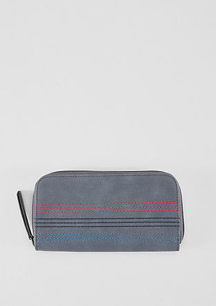 Embroidered zip wallet from s.Oliver