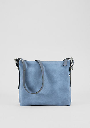 Faux suede city bag from s.Oliver