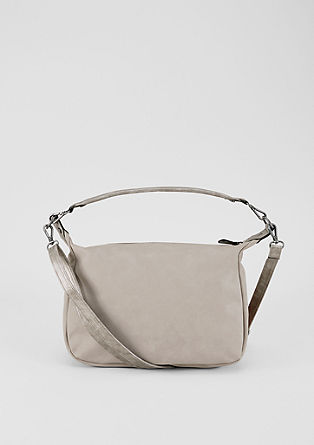 Mixed material hobo bag from s.Oliver