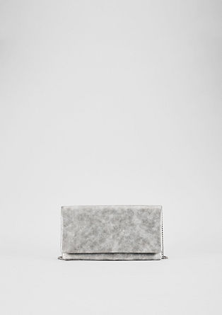 Faux leather clutch from s.Oliver