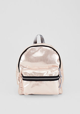 Rucksack in a metallic look from s.Oliver