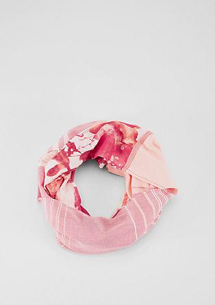 Loop-Schal mit Print