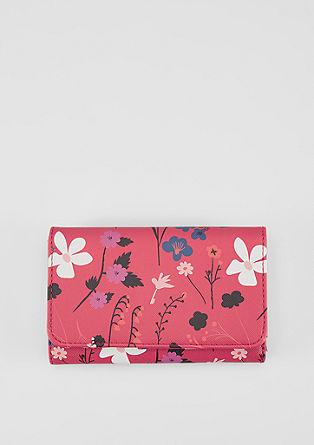 Portemonnaie mit Allover-Print