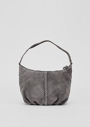 Hobo Bag aus Veloursleder