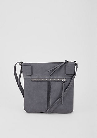 City bag met siernaden