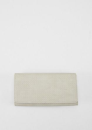 Portemonnaie mit Lasercut-Muster