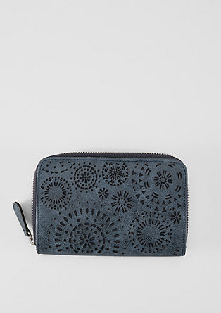 Zip Wallet mit Perforation