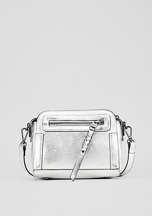 Faux leather mini bag from s.Oliver