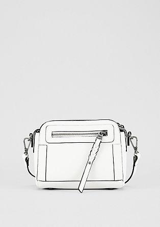 Mini bag met gevlochten details