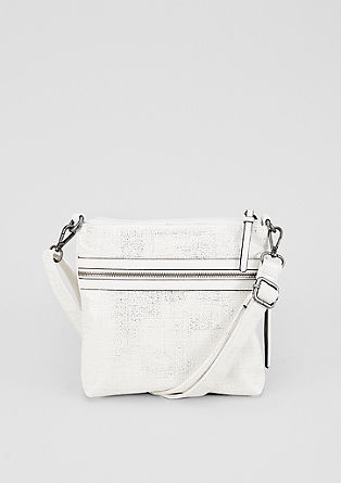 City Bag mit Metallic-Finish