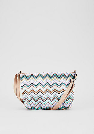 City bag with a braided pattern from s.Oliver