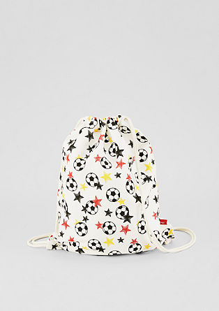 Rucksack with a football print from s.Oliver