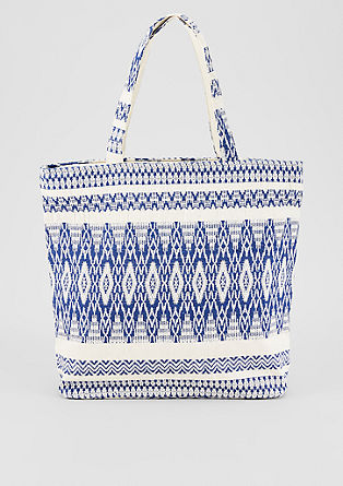 Shopper with an ethnic pattern from s.Oliver