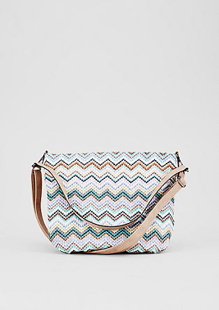 Hobo bag with a braided pattern from s.Oliver