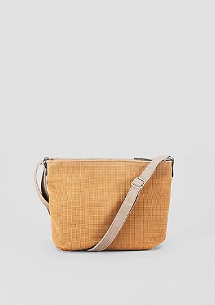 Shoulder Bag mit Strukturmuster