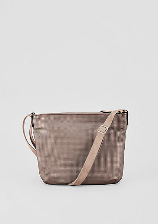 Shoulder bag with a textured pattern from s.Oliver