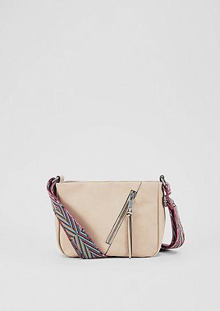 City bag met een kleurrijke riem