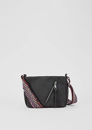 City Bag mit buntem Gurt