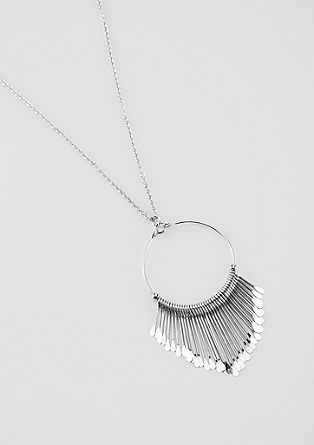 Ketting met een elegante ringvormige hanger